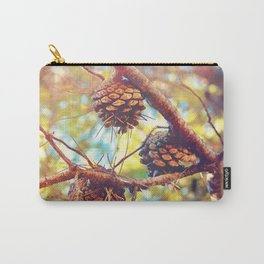 Autumn pine cones  #photography Carry-All Pouch