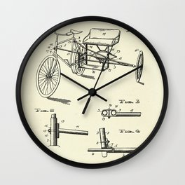 Seat Supporting Bicycle Extension Frame-1903 Wall Clock