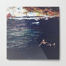 swim for your life Metal Print