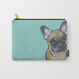 Armand the Frenchie Pup Carry-All Pouch