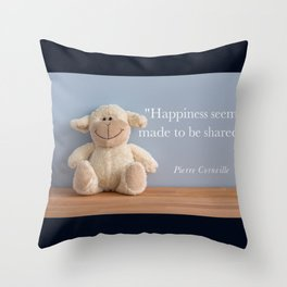 Happiness - Shared Throw Pillow