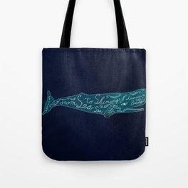 Sea To Sea Tote Bag