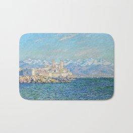 Claude Monet - Antibes, Afternoon Effect Bath Mat