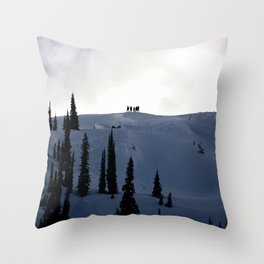 Backcountry Gents Throw Pillow