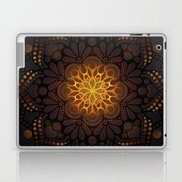"""Warm light Moroccan lantern Mandala"" Laptop & iPad Skin"
