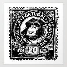 República das Bananas Art Print