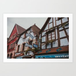 Chez Roger Art Print