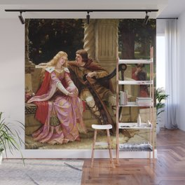 The End Of The Song - Edmund Leighton Wall Mural