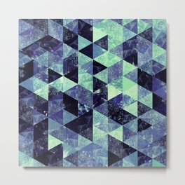 Abstract Geometric Background #6 Metal Print