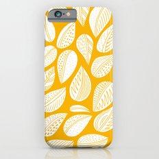 Yellow leaf Slim Case iPhone 6s