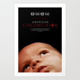 American Circumcision Movie Poster - Baby Art Print