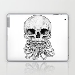 Peony Skull Creation Laptop & iPad Skin