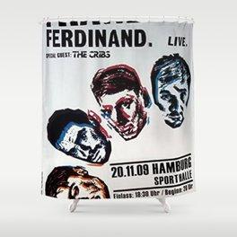 FRANZ FERDINAND IYENG 6 Shower Curtain