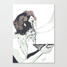 Act of Devotion Canvas Print