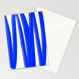 Yummy blue lines Stationery Cards