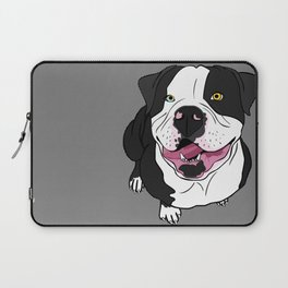 Bubba, the American Bulldog Laptop Sleeve