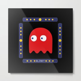 Blinky Just Arrived! Metal Print
