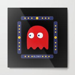 Blinky Just Arrived! Metal Print