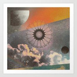 Sky Mandala II Art Print