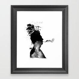 URBAN BLACK MAN Framed Art Print