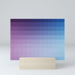 Lumen, Blue and Purple Glow Mini Art Print