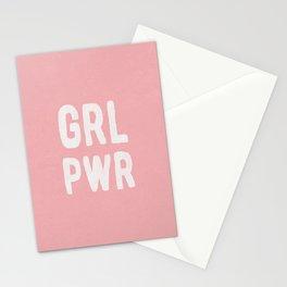 GRL PWR (pink) Stationery Cards
