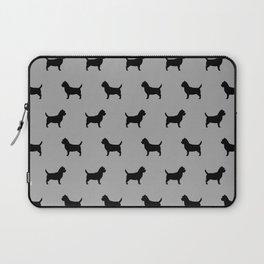 Cairn Terrier Silhouette Laptop Sleeve