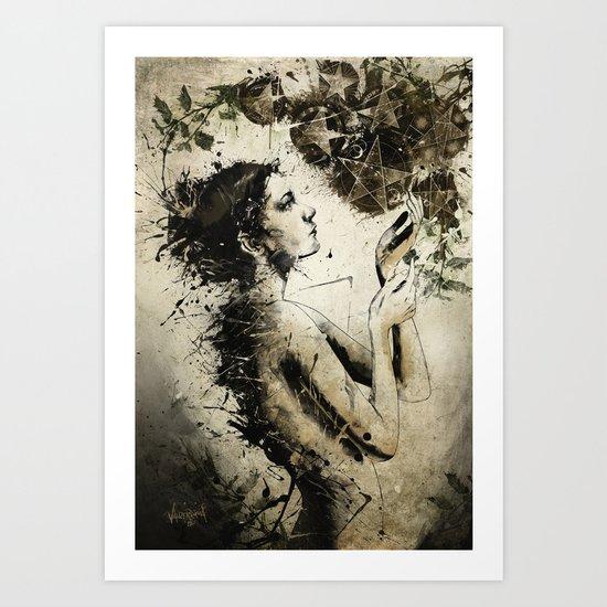 7 of Pentacles Art Print