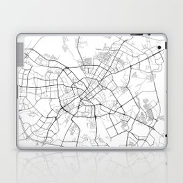 Minimal City Maps - Map Of Minsk, Belarus. Laptop & iPad Skin