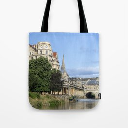 Poulteney bridge Bath 1 Tote Bag