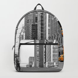 NYC - Yellow Cabs - Music Backpack