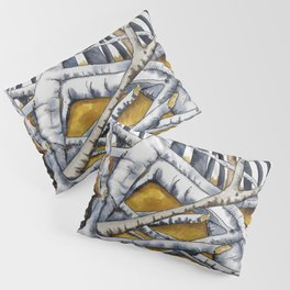 Silver Birch Woods. Pillow Sham