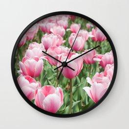 Arlington Tulips Wall Clock