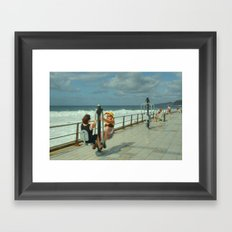 Canarian Exercise Framed Art Print