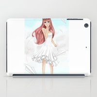 vocaloid iPad Cases featuring Luka Mergurine by Rinneii