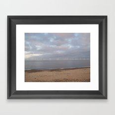 Wind Turbines Framed Art Print