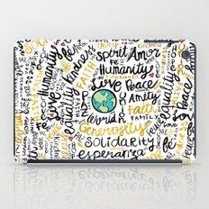 Positive Messages iPad Case
