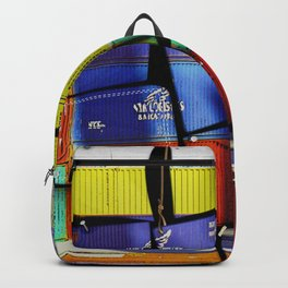 Colorful container wall board Backpack