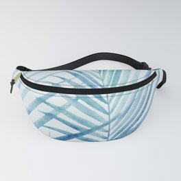 Coastal Palms Watercolor Fanny Pack