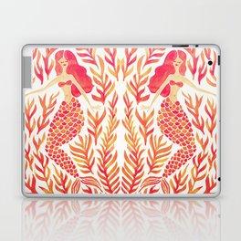Kelp Forest Mermaid – Peach Palette Laptop & iPad Skin