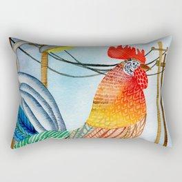 Free Range Pollito Rectangular Pillow