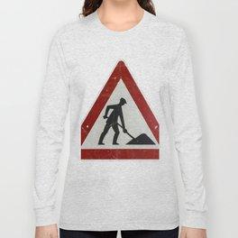 Men at Work Vintage Sign Germany Long Sleeve T-shirt