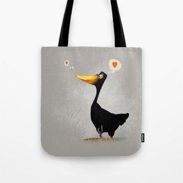 Duck and Junebug Tote Bag