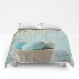 Limpet shell color eggs  Comforters