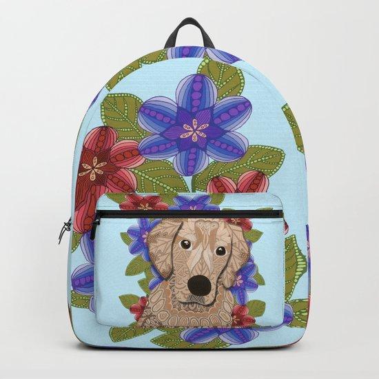 Golden Retriever Backpack