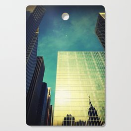 empire state reflection NY Cutting Board
