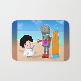 Oinkbot, the world's first surfing robot Bath Mat