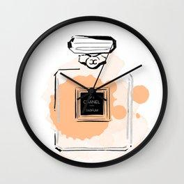 Orange perfume #3 Wall Clock