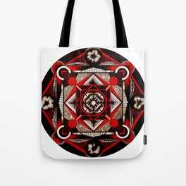 geo plant ovaries  Tote Bag