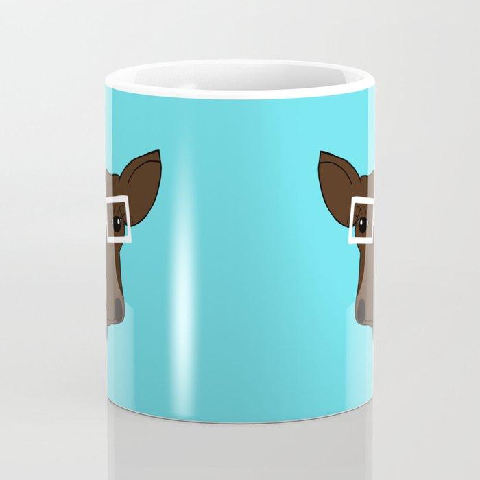Matilda the Hipster Cow Coffee Mug